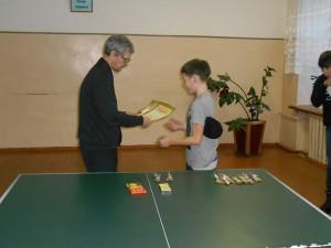 Настольный теннис в Ариничево 1