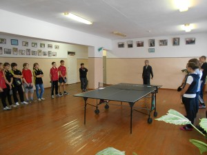 Настольный теннис в Ариничево 2