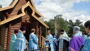 Освящение часовни Алексия человека Божия 695